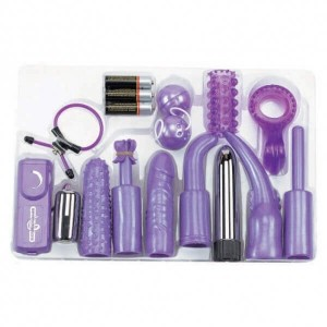 KIT MEGA PURPLE SEX TOY KIT