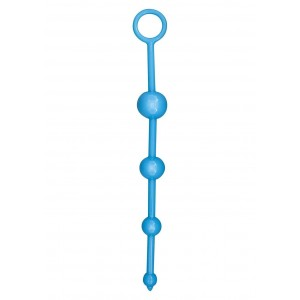 PLUG ANALE FUNKY BUTT BEADS BLUE