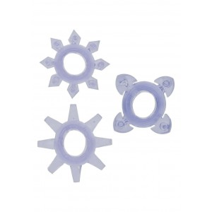 ANELLO FALLICO TICKLE C-RINGS PURPLE